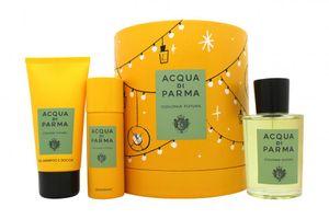 Acqua di Parma Colonia Futura Gift Set 100ml EDC + 75ml Shower Gel + 50ml Deodorant Spray