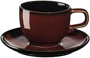 ASA Espressotasse mit Unterer, rusty red KOLIBRI 0,06 l.                    25512250