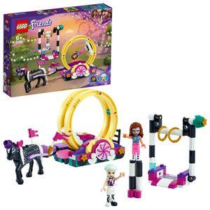LEGO 41686 Friends Magische Akrobatikshow mit Freizeitpark, Spielzeug für Mädchen und Jungen ab 6 Jahre