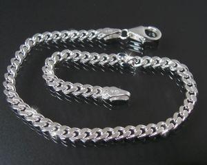 NIKLARSON® Panzerarmband 3,3mm x19cm  925 Sterling Silber Armband  Armkette K10533-19