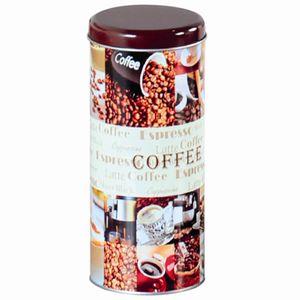 Kesper Kaffeepaddose Metall 17,5 x 8 cm Ø