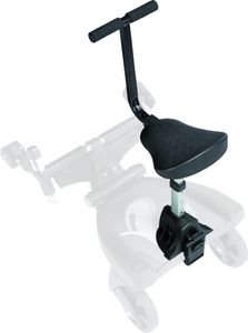 Fillikid Filliboard Exclusiv schwarz/grau 180°, Größe:Zusatzsitz