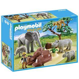 Playmobil Wild Life 5417 - Afrikanische Savanne mit Tieren