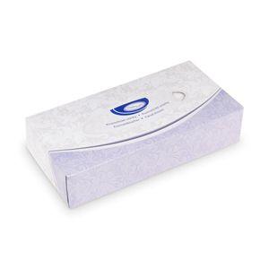 Kosmetiktücher 2-lagig, in Spenderbox  - 100 Stück