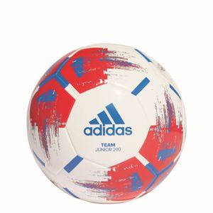 adidas TEAM JUNIOR 290g Fußball Ball Weiß, Größe:5