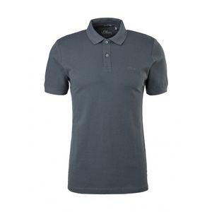 s. O. Red Men Polo-Shirt, Farbe:grey AOP, Größe:L