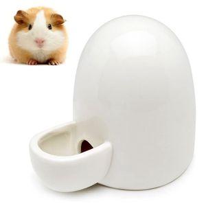 Wasserflasche Keramik, Hamster Wasserflasche Keramik, Automatischer Wasserspender Hamsterkeramik, Hamster Wasserflasche Keramik, Stumm, für Igel, Hase, Totoro, Katze