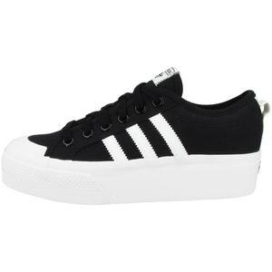 Adidas Originals Sneaker NIZZA PLATFORM FV5321 Schwarz Weiß, Schuhgröße:38