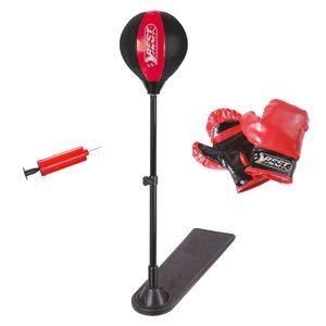Best Sporting Punchingball Set für Kinder inkl. Standfuß Boxhandschuhe Minipumpe