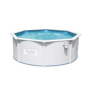 Bestway Hydrium Pool-Set mit Sandfilteranlage + Zubehör, rund, 360x120cm, 56574