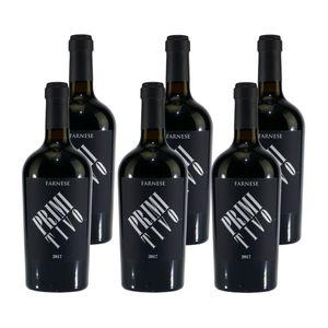 Farnese Primitivo Puglia IGP - Rotwein halbtrocken (6 x 0,75) 13,50% vol. 4,5 L