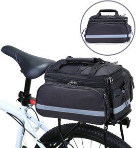 Gepäckträgertasche wasserdichte Fahrradtasche Hinterradtasche Gepäckträger Tasche mit Regenhülle