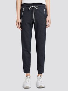 Damen Hose Jeans loose fit pants with zips Trousers ankle