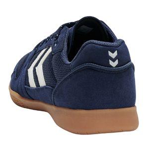 Hummel Swift Lite Indoor Futsal Fussball Hallenschuhe blau/weiss 207124-7666, Schuhgröße:45 EU