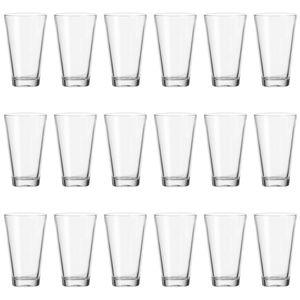 Leonardo Ciao Becher Groß 18er Set Trinkglas Wasserglas Saftglas Glas 300 ml