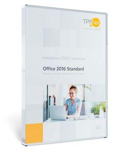 MS Office 2016 Standard 32 bit & 64 bit Vollversion - Original Aktivierungsschlüssel - mit DVD + Anleitung von TPFNet®