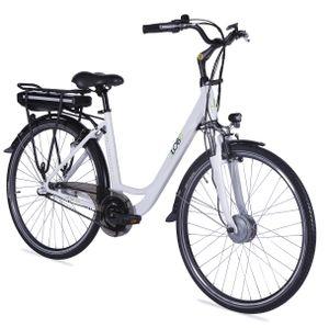 "LLobe E-Bike  28"" Alu City Bike Metropolitan JOY weiß 36V/8Ah, 3-Gang Shimano"
