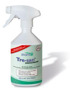 Tre-san Milbenspray, neutralisiert sofort und zuverlässig Milben, Hausstaubmilben, innerhalb 1 Stunde, wirksam auf allen Oberflächen, 100% biologisch, Wirksamkeit klinisch nachgewiesen.