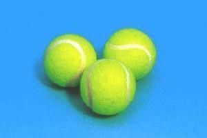 Tennisbälle für Hunde 3 Stück Hundeball