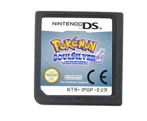 Pokemon Go Spielkarte Soul silver/Heart Gold Version (Zufällige Sendungen)  kompatibel mit Nintendo NDS NDSL 3DS 3DSLL Unterstützung