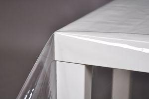 Tischfolie Transparent Klar Stärke 0,24 mm dick Tischdecke 140 Breit , Maße:340 x 140 cm