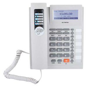 Mllaid Schnurgebundenes Telefon, Kabelgebundenes Wandtelefon Festnetztelefon mit Freisprecheinrichtung mit LCD-Display Schnurgebundenes Telefon