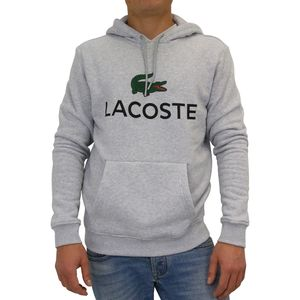 Lacoste Sweatshirt mit Kapuze Herren Grau (SH0601 CCA) Größe: 5 (L)