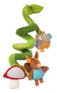 Sigikid Aktiv-Spirale Wald Babyschalenspielzeug Eichhörnchen