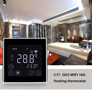 Digital Raumthermostat Fußbodenheizung Wandthermostat Thermostat Programmierbar Wifi