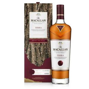 The Macallan TERRA Highland Single Malt Scotch Whisky 43,8% Vol. 0,7 l + GB