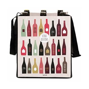 derrière la porte Getränketasche für 6 Flaschen - Vins divine