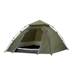 Where Tomorrow Kuppelzelt Igluzelt 3 Personen Camping Zelt, 215 x 195 x 120 cm robust