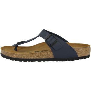 BIRKENSTOCK Gizeh Damen Zehentrenner Marineblau Schuhe, Größe:40