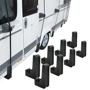 8 x Schutzecken für Wohnwagen, Wohnmobil Schutzdächer Spezial Styropor