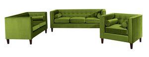 Max Winzer Jeronimo Sofa 3-Sitzer / Sofa 2-Sitzer / Sessel - Farbe: oliv - Maße: 0 cm x 85 cm x 80 cm; 2962-901-2044229-F07