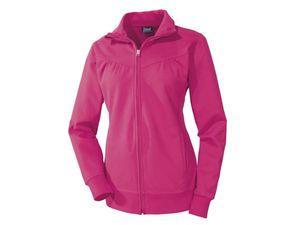 Damen Sweatjacke Trainingsjacke Fitnessjacke Sportjacke Crivit - Pink, L 44/46 (Farbe: Pink, Größe: L 44/46)