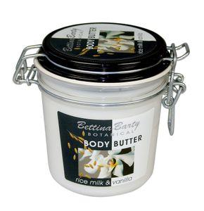 Bettina Barty Botanical RICE MILk  VANILLA Body Butter  400 ml