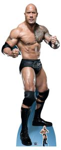 WWE - Wrestling - Rock, The - Dwayne Johnson - Pappaufsteller Standy - 75x195 cm