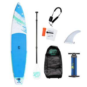 """Sportime® Aufblasbares SUP Lux Set """"Seegleiter Pro"""" in 2 Größen, 12'6S  Touring Board"""