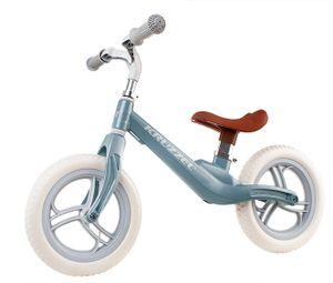 Laufrad Mädchen Jungen ab 1 Jahr 12 Zoll Eva Schaumräder einstellbar  10301, Farbe:Blau/ blue