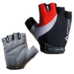 Fahrradhandschuhe Gel Fahrrad Bike Rad Handschuhe von ATTONO® - Größe 9
