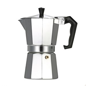 3-Cup Aluminum Espresso Percolator Coffee Stovetop Maker Mocha Pot for Use on Cooker Gas Stove Electrothermal Furnace