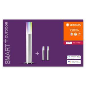 LEDVANCE SMART+ LED GARDENPOLE EXTENSION Lichterkette RGBW ZigBee 600 cm Aluminium Grau