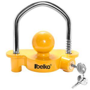 Belko® Anhängerschloss, für alle gängigen Anhängerkupplungen, Sicherung Anhänger Diebstahlschutz Diebstahlsicherung