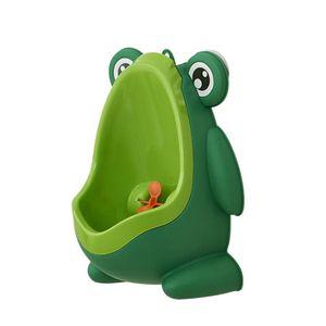 Baby Urinal Junge Frosch Wand Urinal Kind Urinal Junge stehendes Kind Urinal【 gruen】