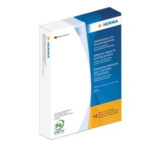 Haftetiketten für Druckmaschinen DP1 weiß 16x22 mm Papier matt 10000 St.