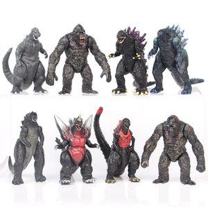 Godzilla vs Kong 8 Stk Monster Figure 8.5cm Actionfigur Kinder Geschenk
