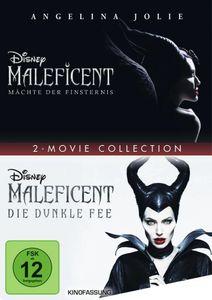 Maleficent - Mächte der Finsternis 1 + 2 [DVD]