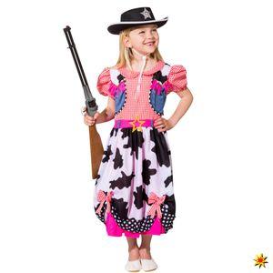 Kinderkostüm Cowgirl Schleifchen, Größe:140