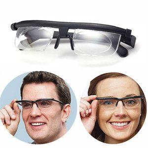 Brille Lesebrille einstellbare -6 +3 Dioptrien Lesebrille Ad Lens Glass